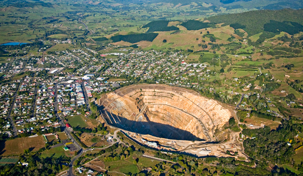 Waihi Gold Mine
